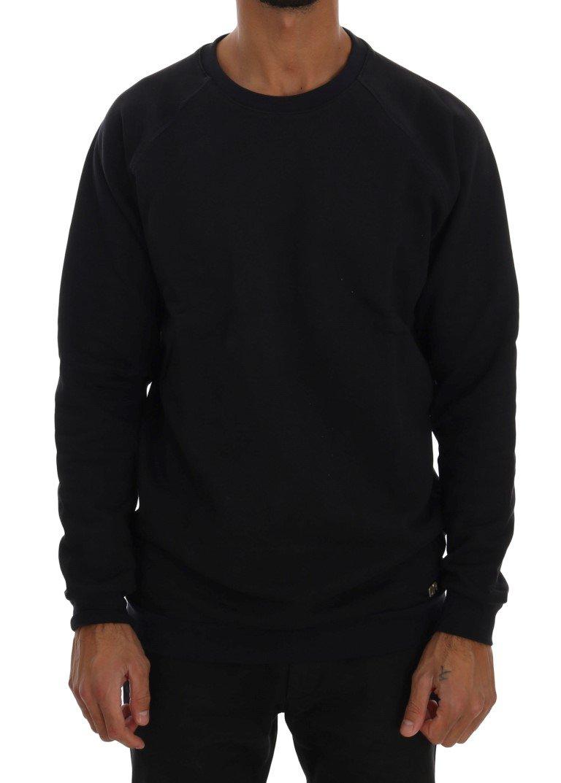 Daniele Alessandrini Men's Crewneck Cotton Sweater Blue TSH1351 - L
