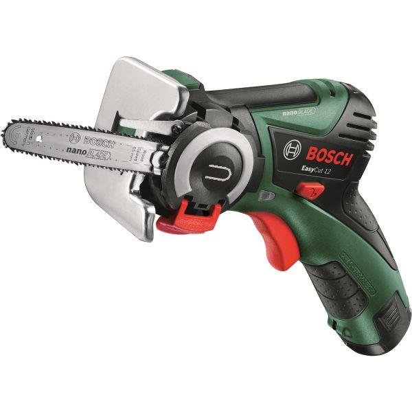 Bosch DIY Easy Cut 12 Motorsag med 2,5 Ah-batteri og lader