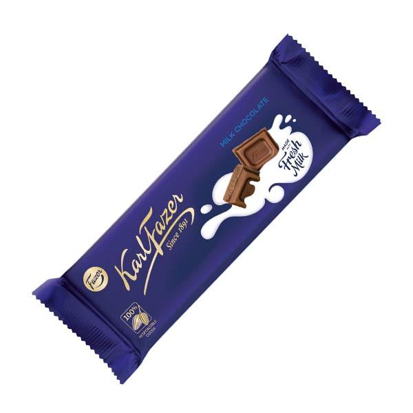 Karl Fazer Mjölkchoklad 70g x 20 st