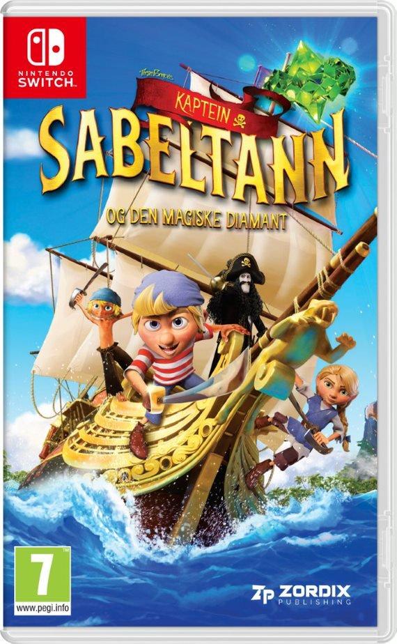 Kapten Sabeltann og den Magiske Diamant