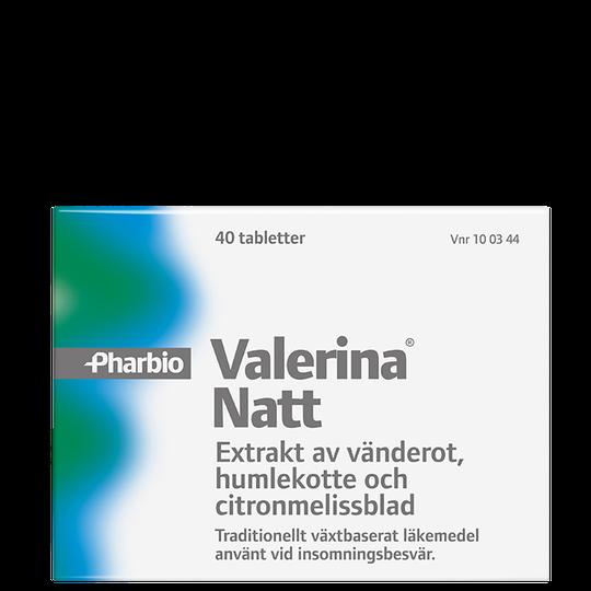 Valerina Natt, 40 tabletter