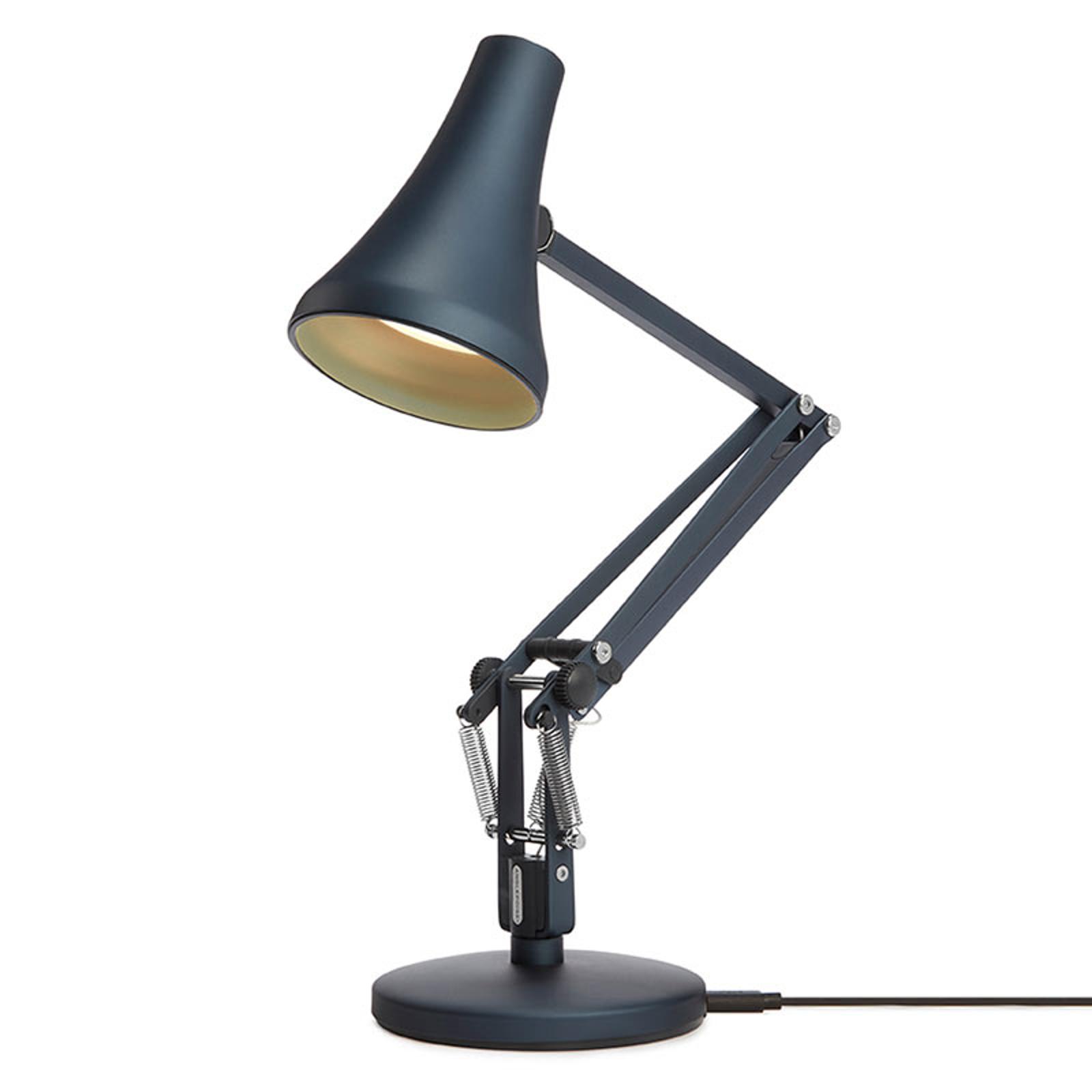 Anglepoise 90 Mini Mini-LED-pöytälamppu sininen