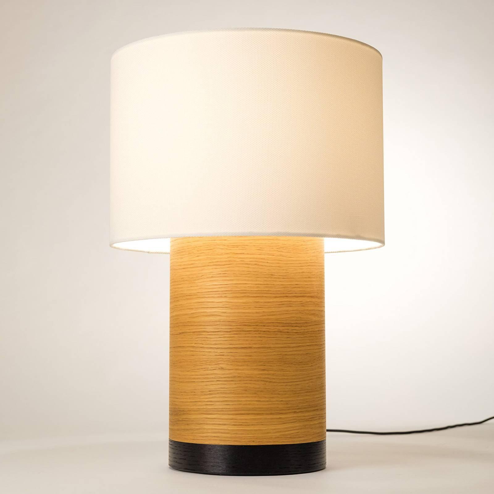 Bordlampe Klippa XL svart Trooper alabaster