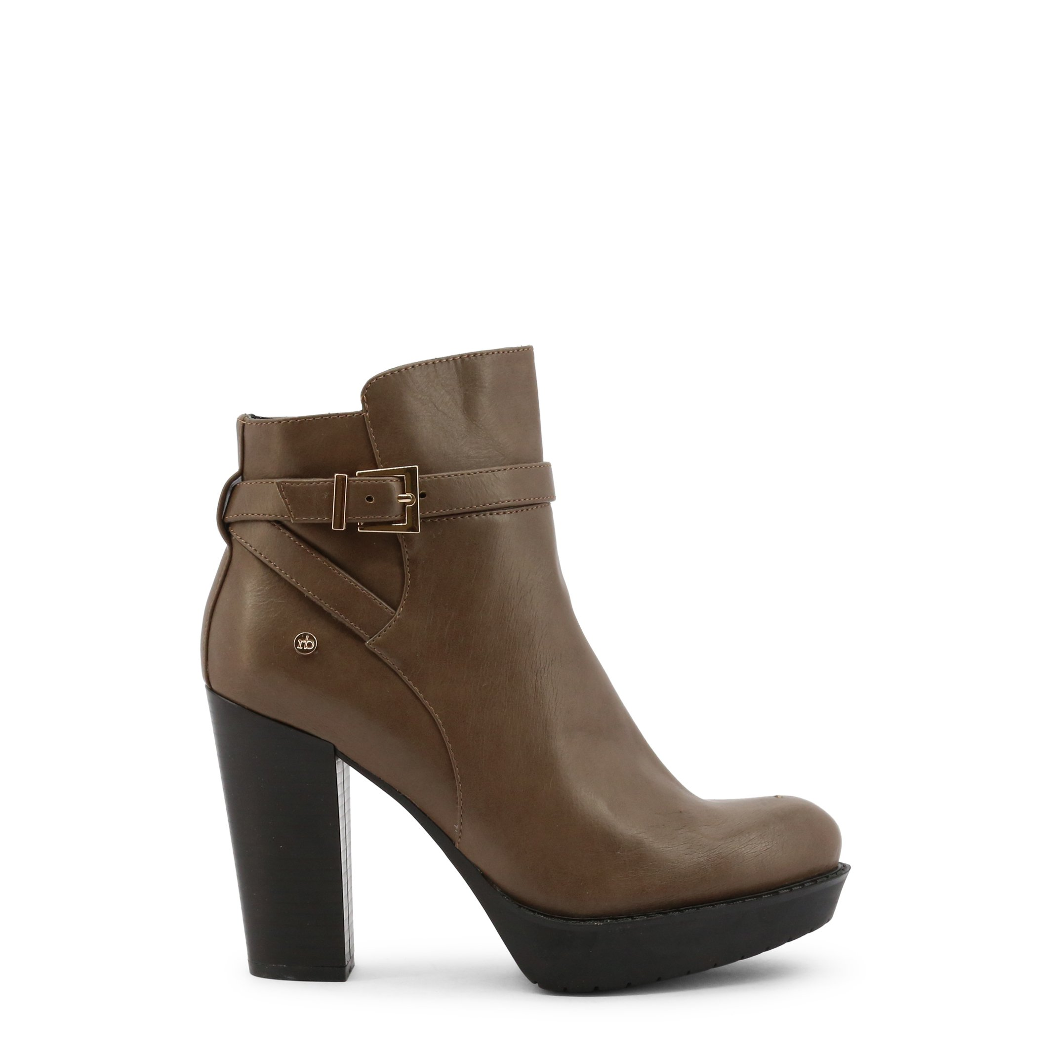 Roccobarocco Women's Ankle Boot Various Colours RBSC1JU02STD - brown EU 37
