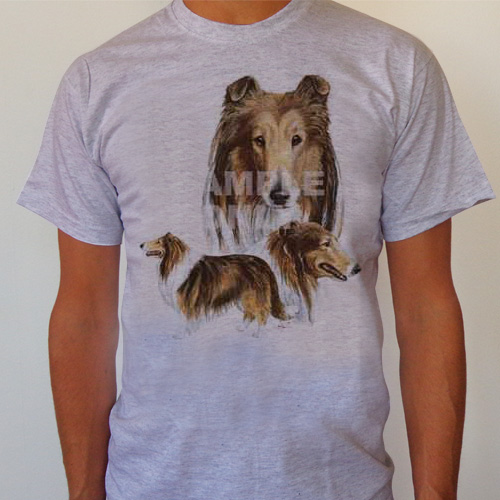 T-Shirt Collie storlek Medium