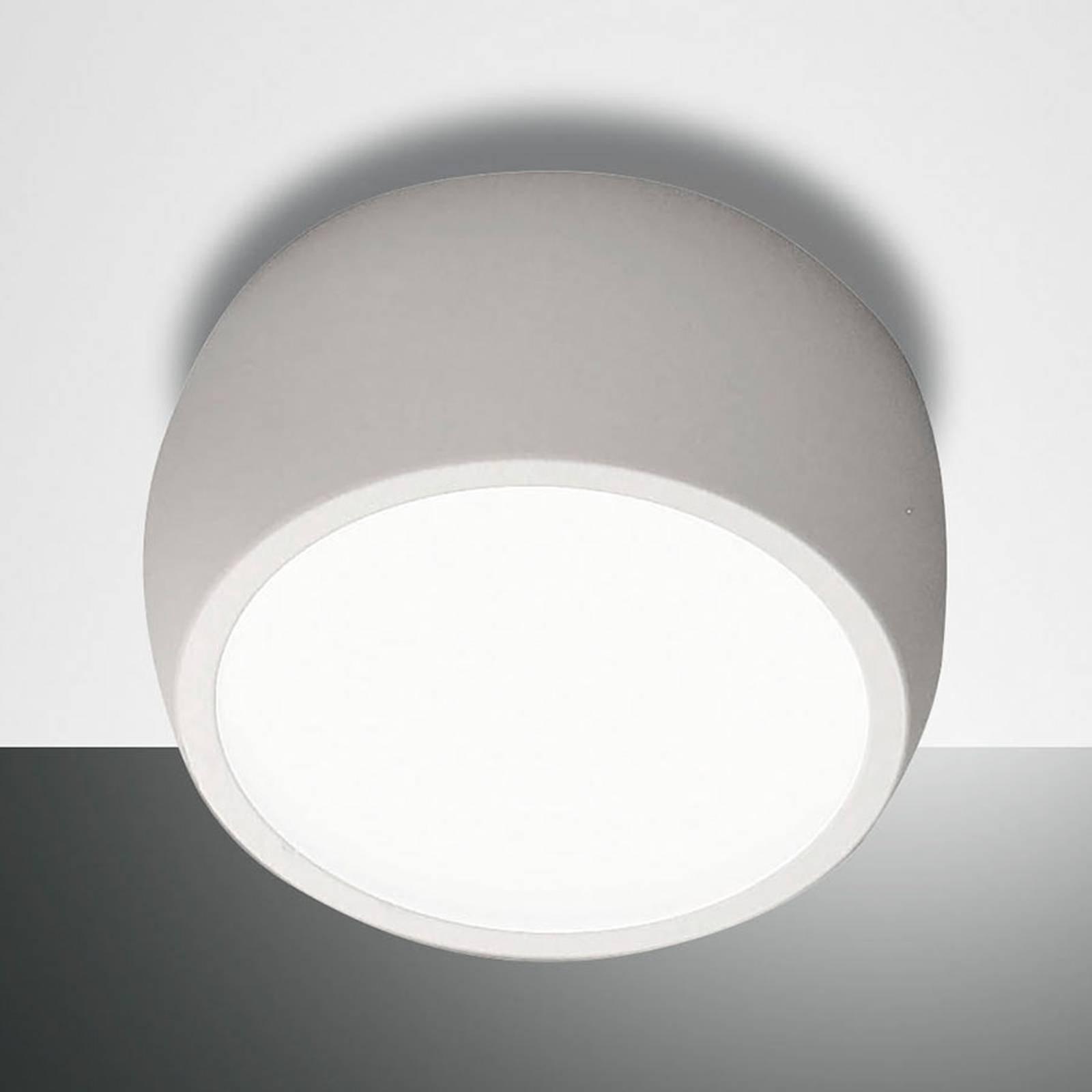 Rund LED-downlight Vasto, hvit