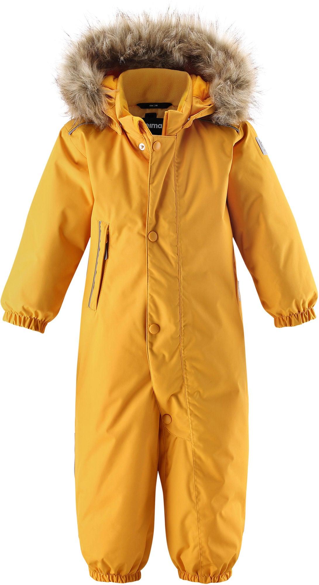 Reimatec Gotland Overall, Warm Yellow, 80