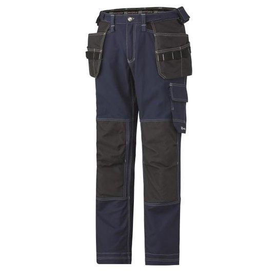 Helly Hansen Workwear Chelsea Cotton Cons Vyötäröhousut laivastonsininen/musta Koko C46