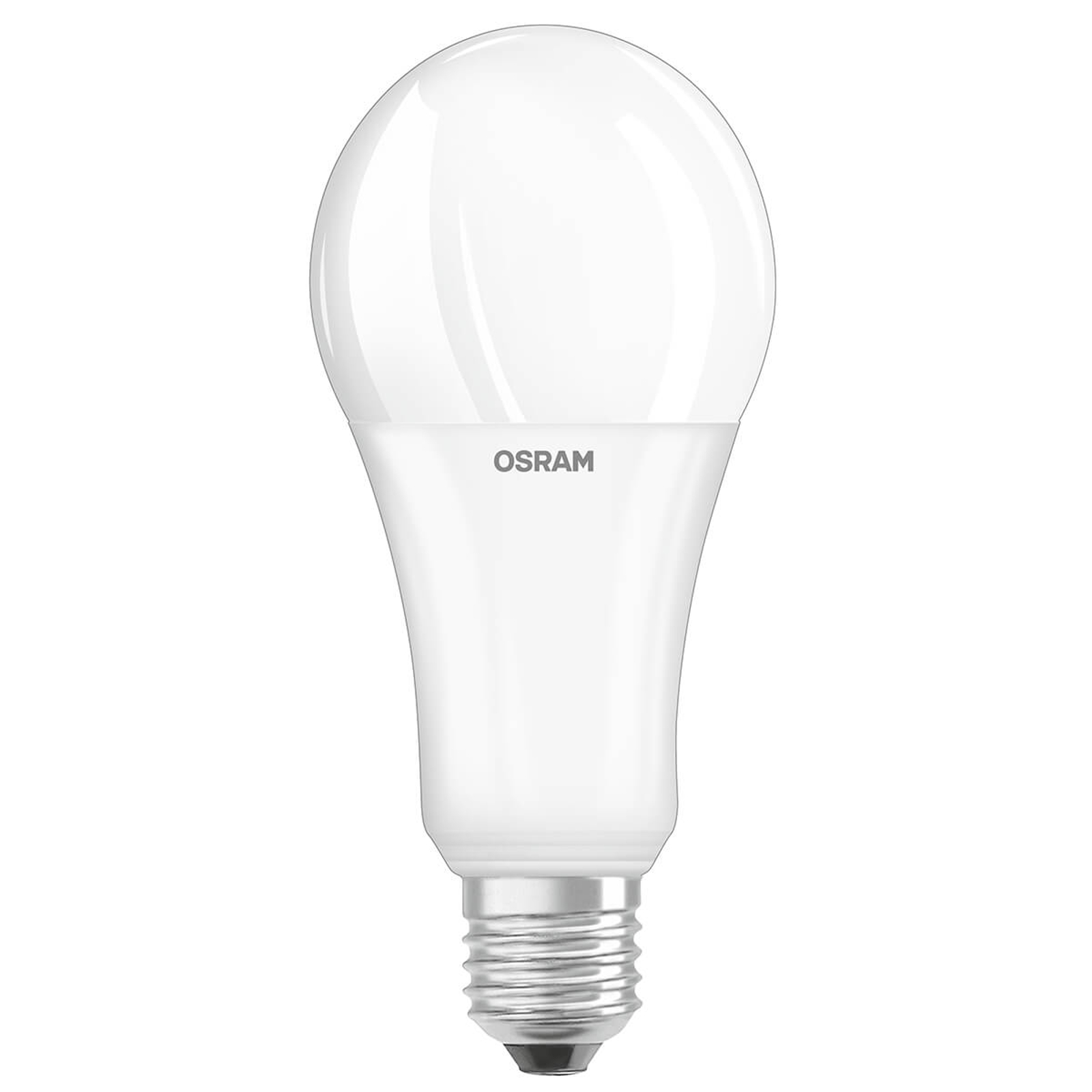 OLED-lamppu E27 21W, 2 700 K, opaali, himmennys