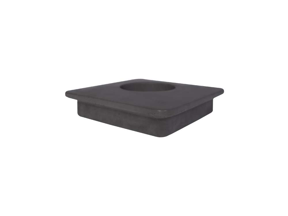 LIKEconcrete - Karin Box Lid With Hole - Antracit Grey (93822)