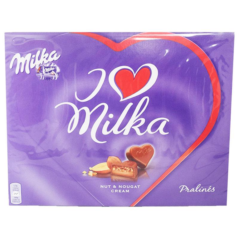 """Suklaapraliinit """"Nut & Nougat Cream"""" 110g - 47% alennus"""