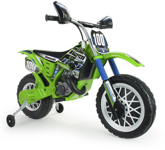 Injusa Elmotorsykkel Moto Cross Kawasaki 6V