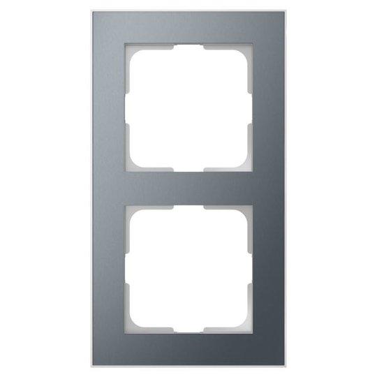 Elko EKO06593 Yhdistelmäkehys tina/alumiini 2-paikkainen