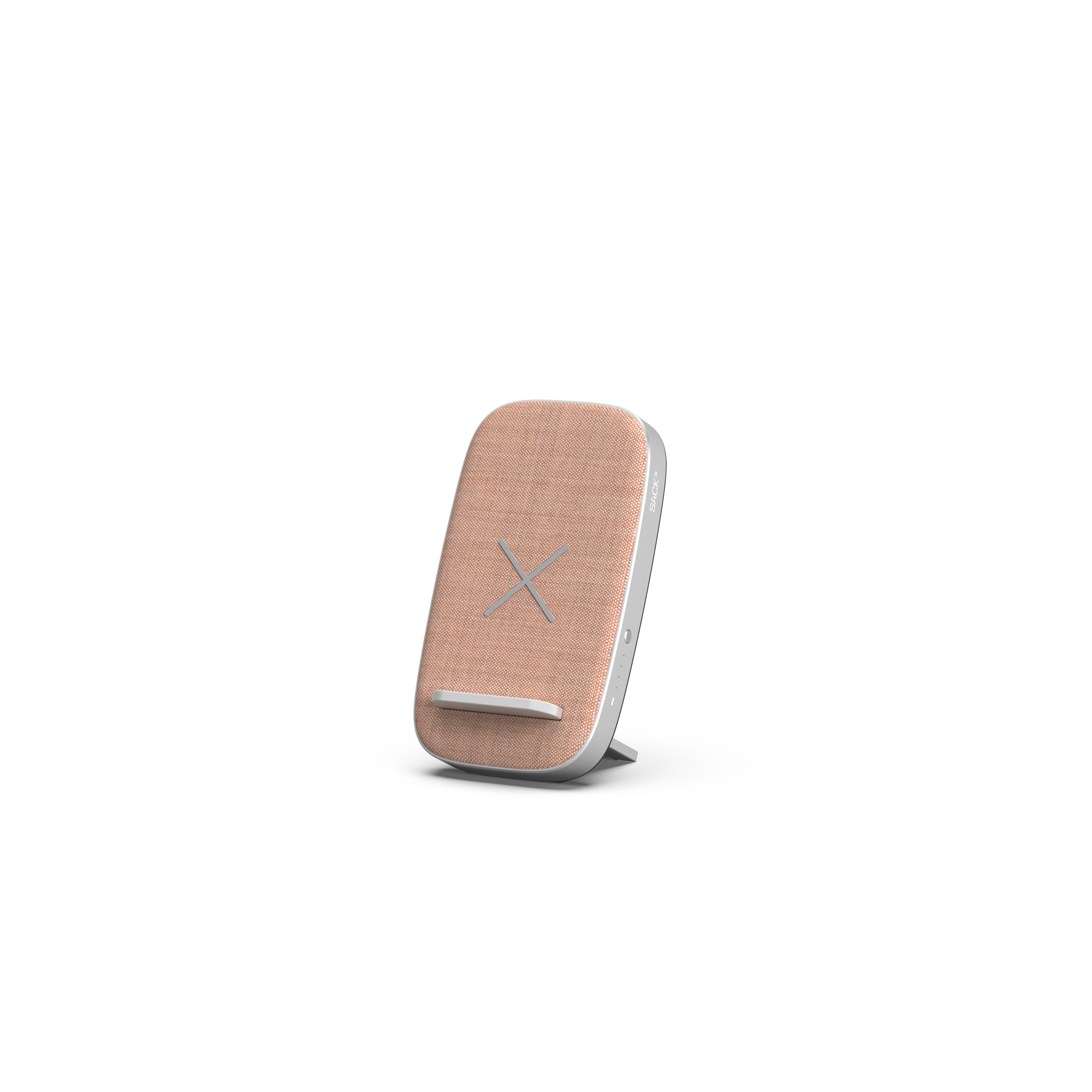 SACKit - CHARGEit Stand – Wireless Charger - Rose