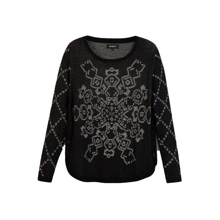 Desigual Women's Sweater Black 177822 - black XL