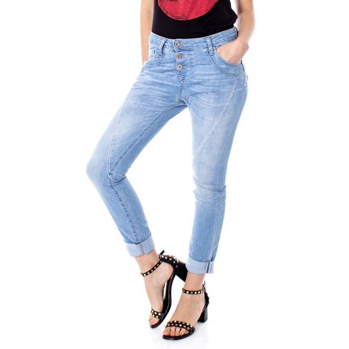 Please Women's Jeans Blue 166758 - blue XXS