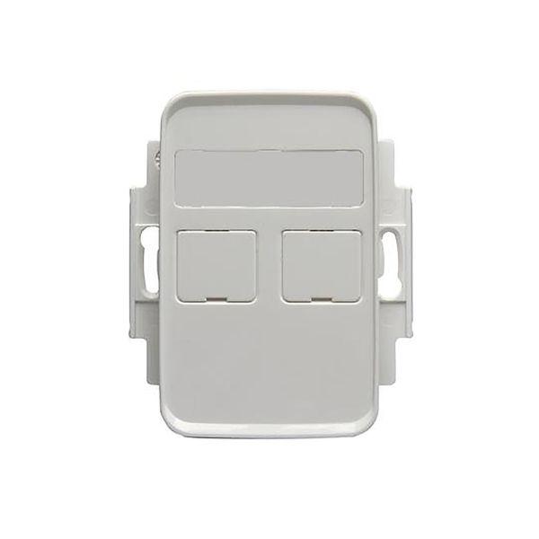 ABB FOT5000-100 Midtplate 2 porter, 100 mm Keystone