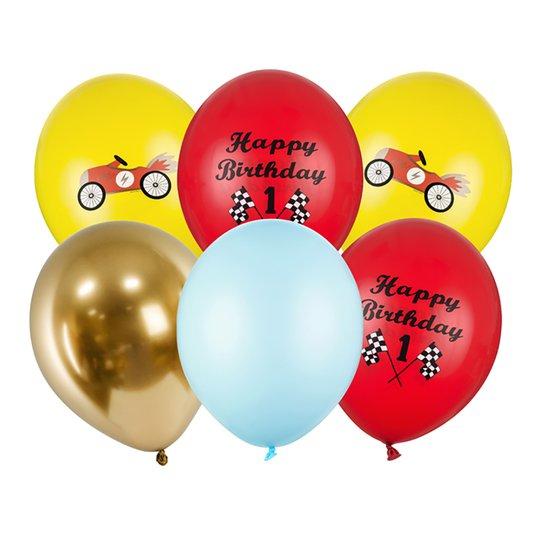 Ballonger Happy Birthday 1 - 6-pack