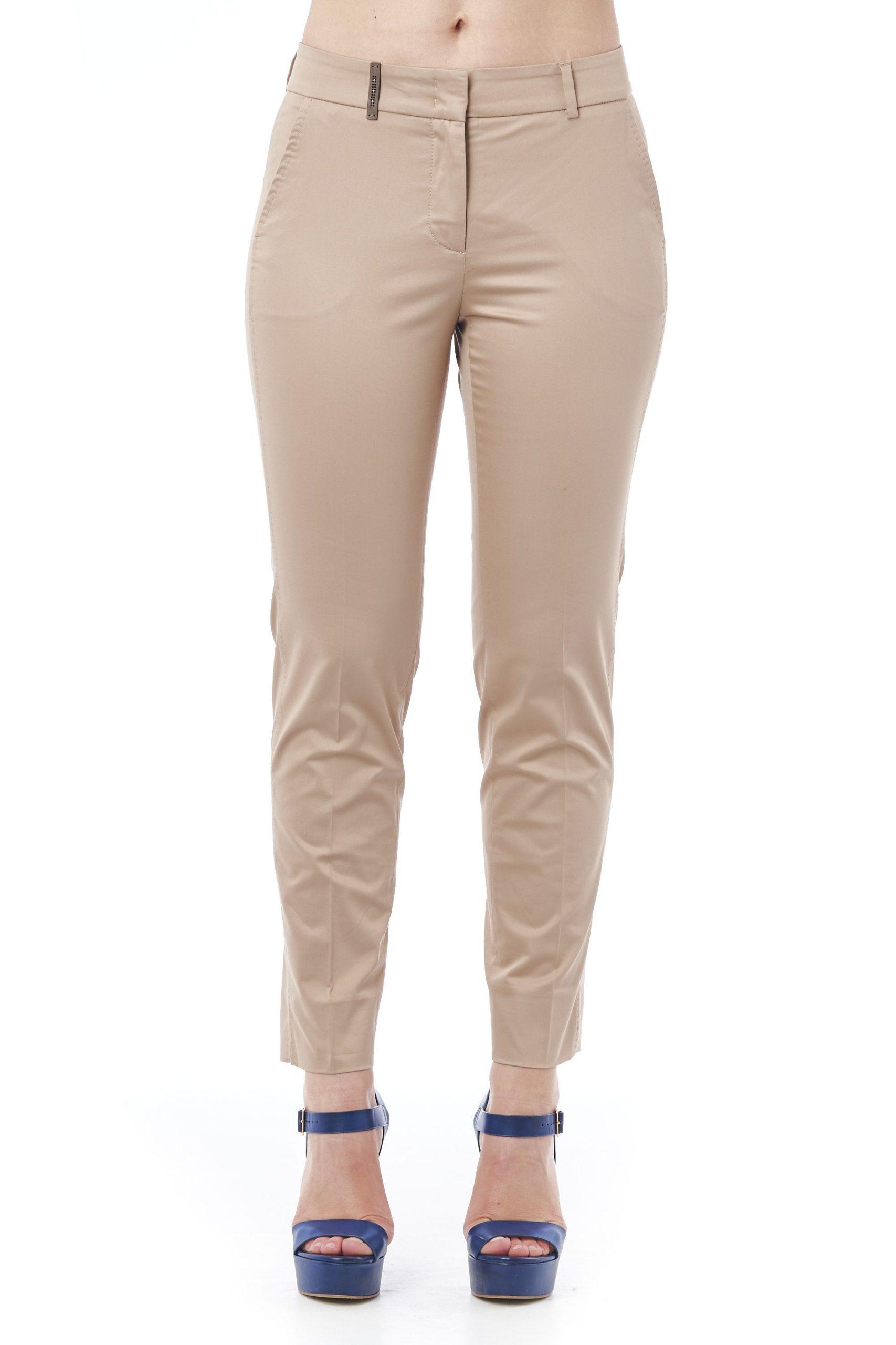 Beige Jeans & Pant - IT46   L