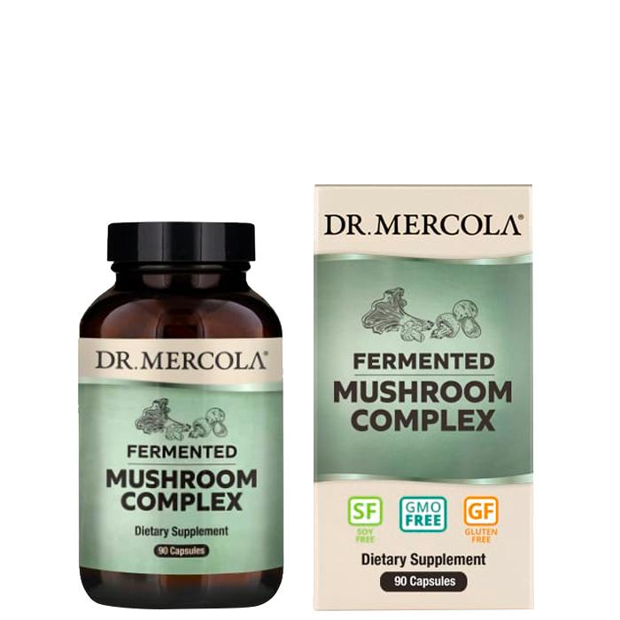 Fermented Mushroom Complex, 90 kapslar