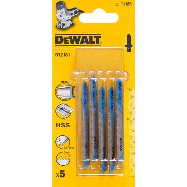 Dewalt DT2161 Pistosahanterä 5 kpl:n pakkaus