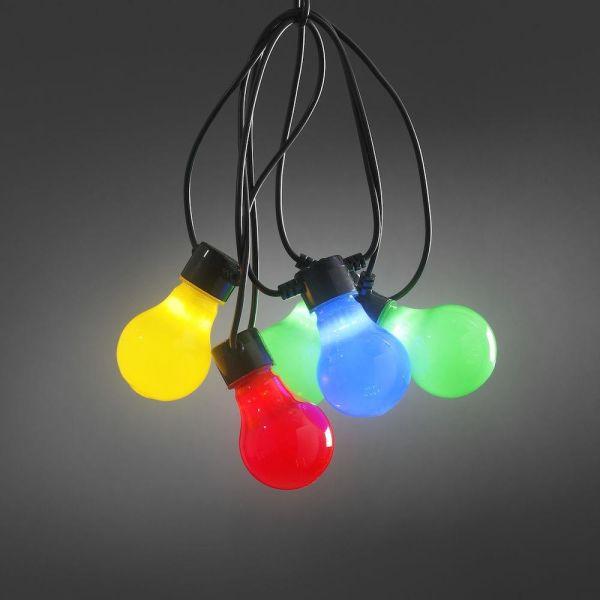 Konstsmide 2388-520 Lysslynge 10 stk. lamper, 4,5 m