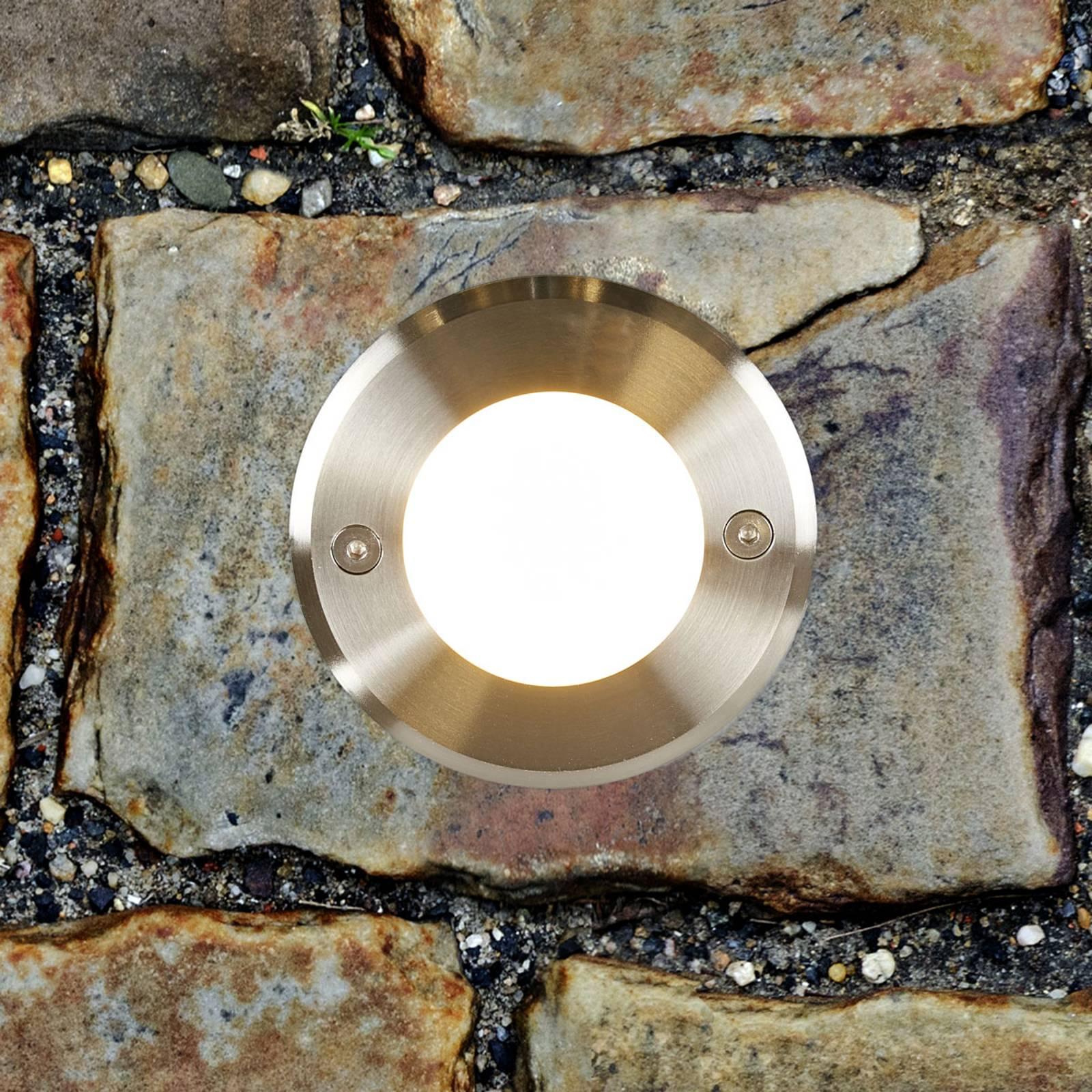 Pyöreä LED-uppovalo LED-18