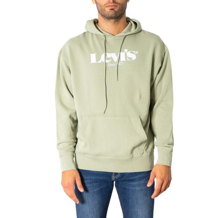 Levi`s Men's Sweatshirts Green 308070 - green S