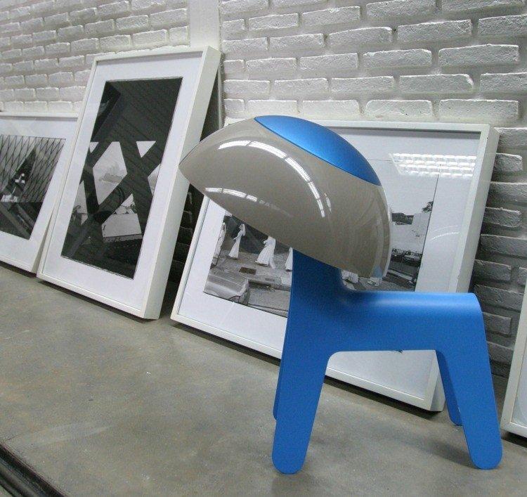 Table /-floor lamp - Dog Lamp (Blue) (1261401)