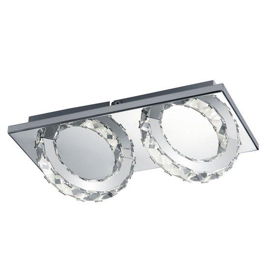 B-Leuchten Cascade LED-kattolamppu 2-lamppuinen