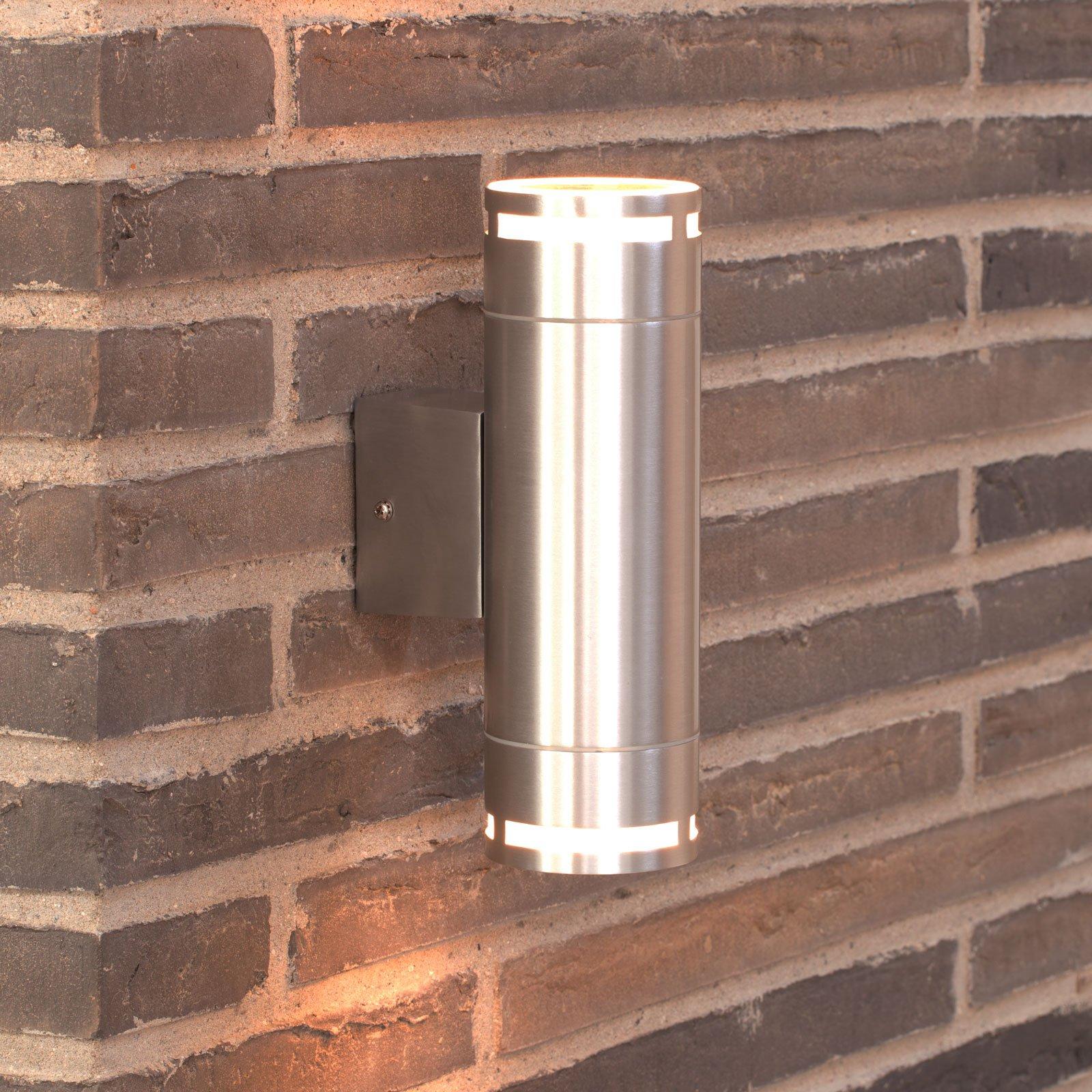 Utendørs vegglampe Can Maxi up- og downlight