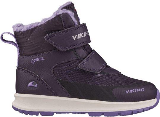 Viking Ella GTX Vintersko, Aubergine/Purple, 22