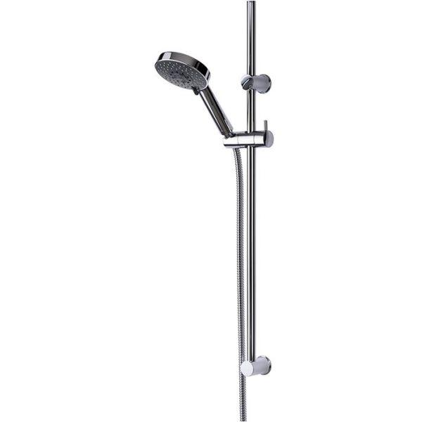 Adora Dominus Suihkusarja Ø 115 mm, viisi suihkutyyppiä, kromi