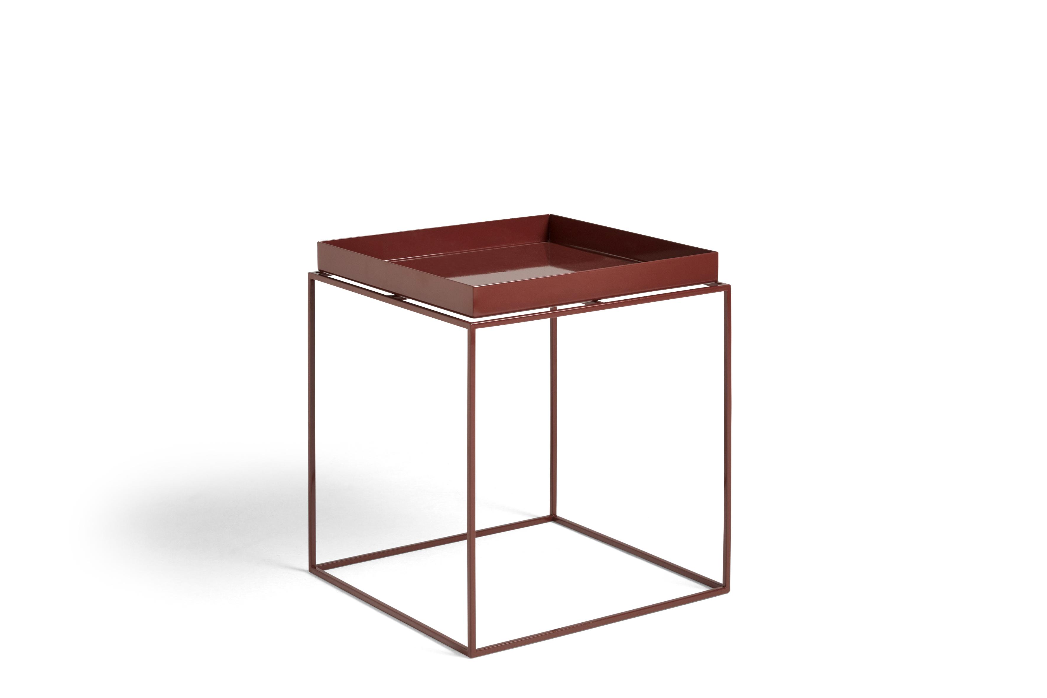 HAY - Tray Table 40 x 40 cm - Chocolate High Gloss (1025033029000)