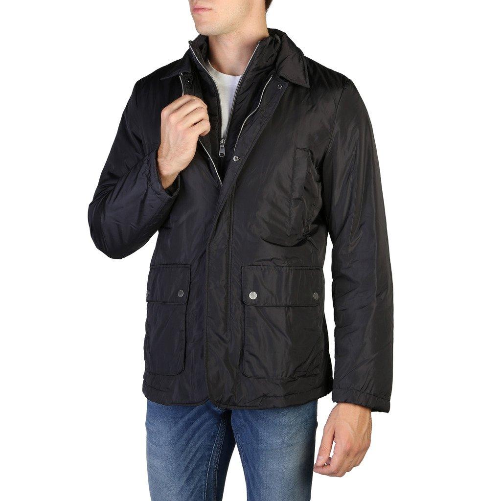 Geox Men's Jacket Black M8420AT2422 - black 48