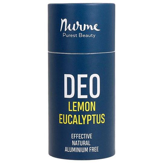Nurme Natural Deodorant Lemon & Eucalyptus, 80 g