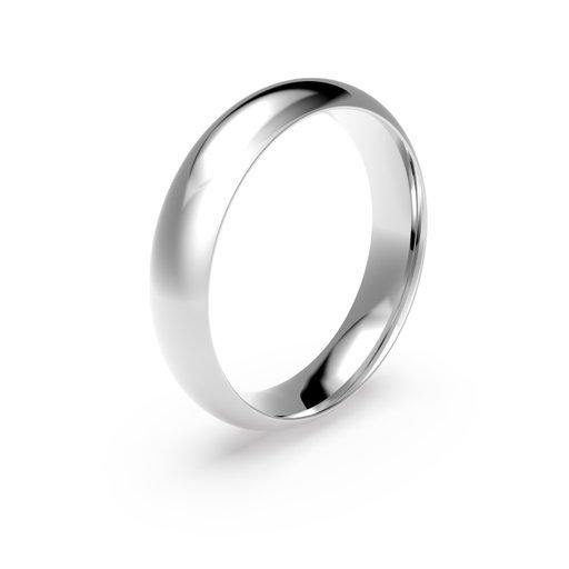 Förlovningsring i platina 5mm, 51