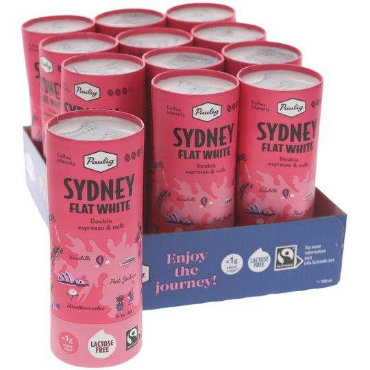 Maitokahvijuomat Sydney Flat White 12kpl - 61% alennus