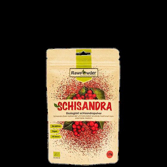 Schisandra, Ekologiskt Schisandrapulver, 125 g