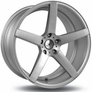 INFINY INDIVIDUAL R-Drive Matt Brushed Silver 8.5x20 5/120 ET34 B74.1