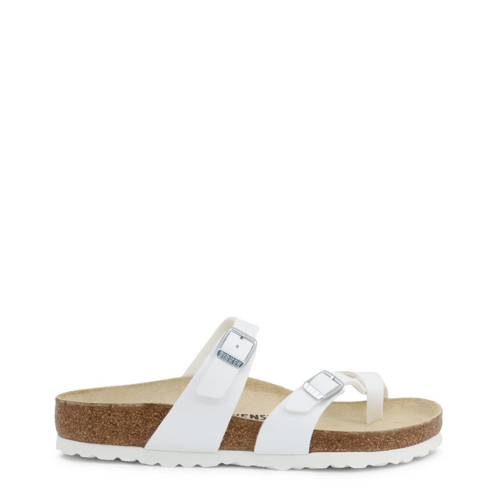 Birkenstock Women's Flip Flops White 308763 - white EU 35