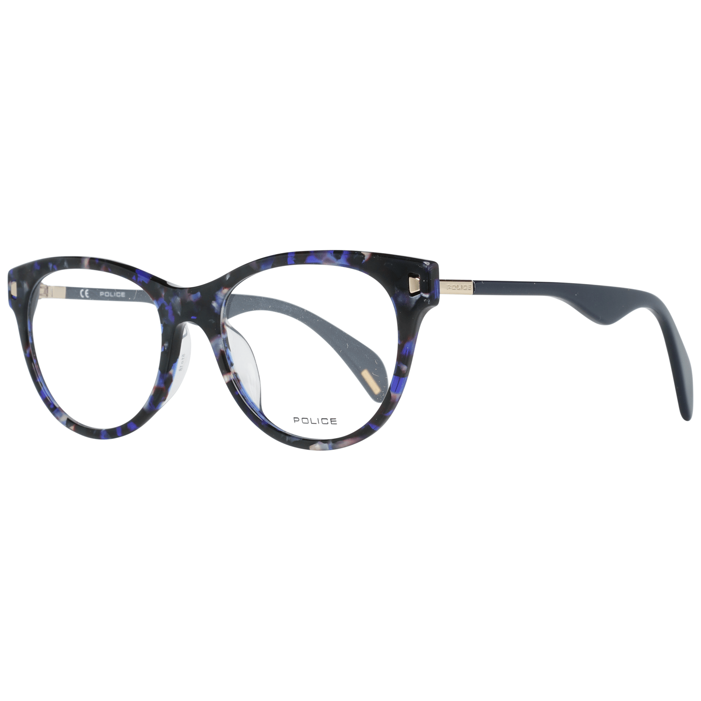 Police Women's Optical Frames Eyewear Blue VPL628 510L93