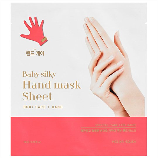 Holika Holika Baby Silky Hand Mask Sheet, Holika Holika K-Beauty