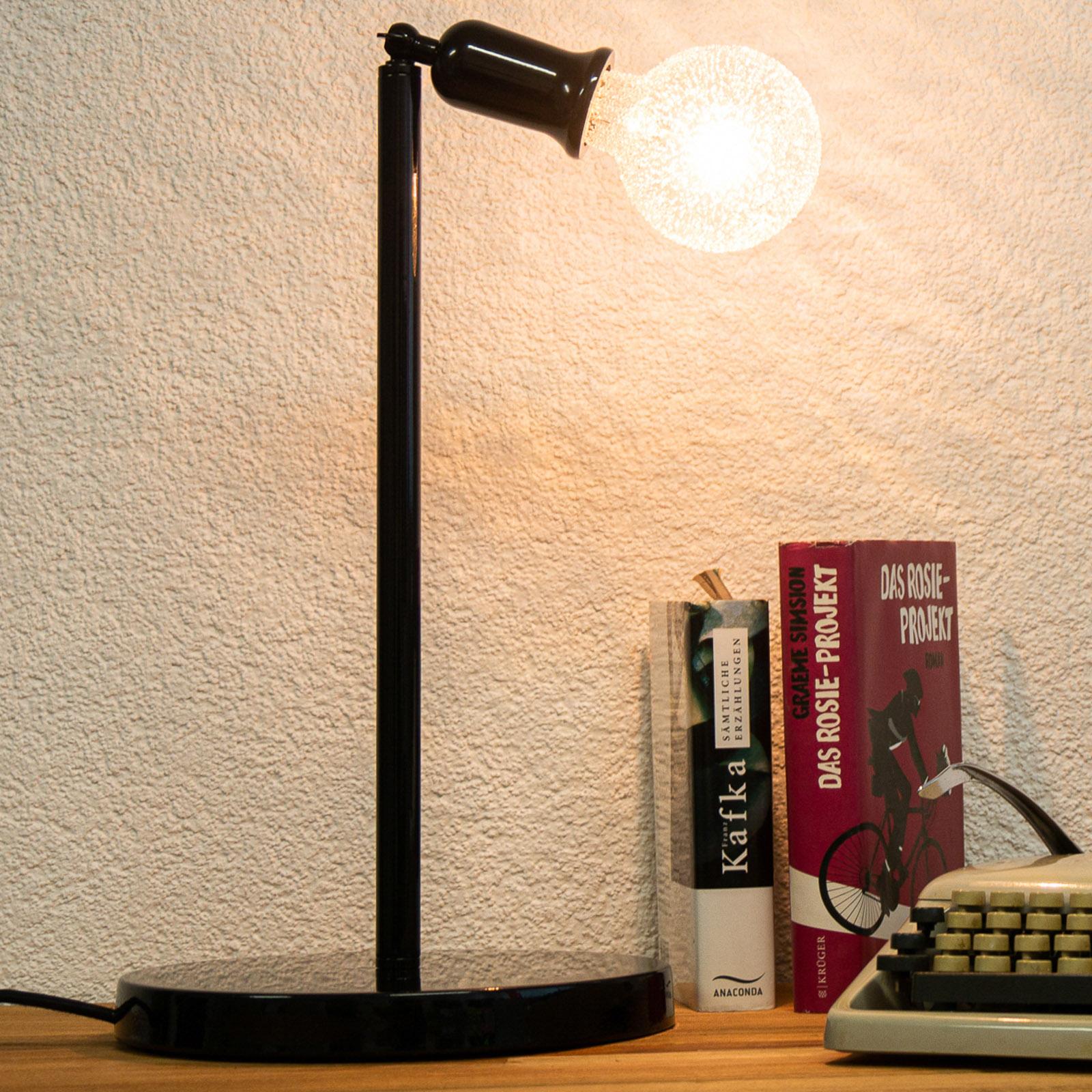SEGULA LED-globe-lamppu E27 3,5W G95 kristalli