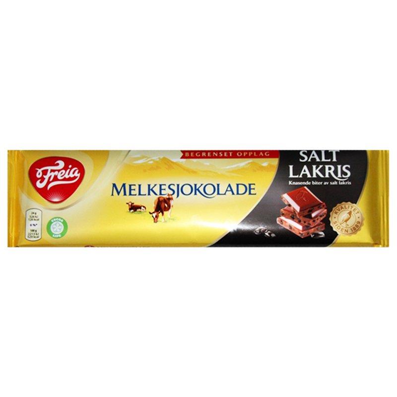 Mjölkchoklad & Saltlakrits 190g - 66% rabatt