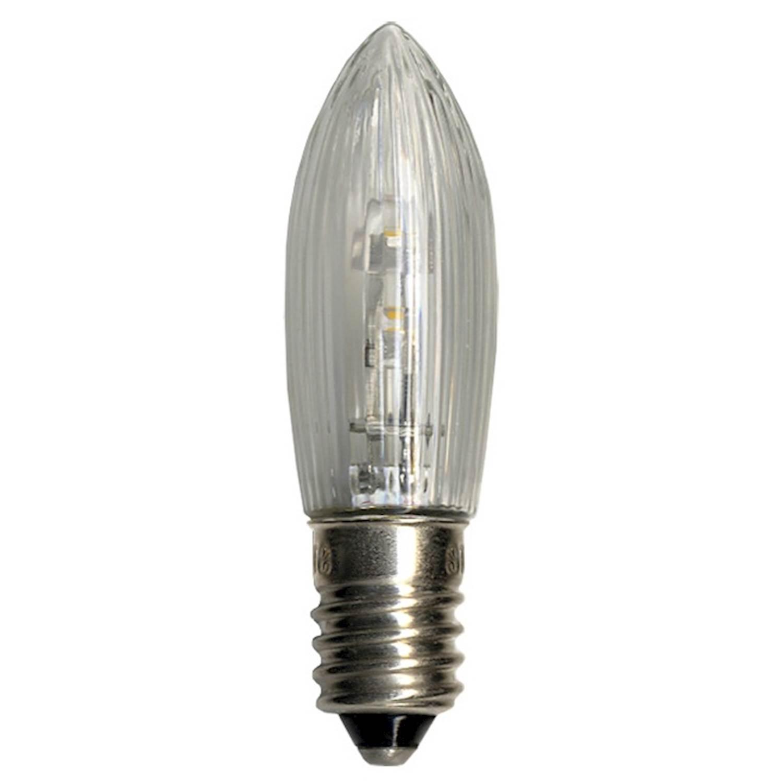 Star Trading LED Bulb E10 10-55V klar 3p