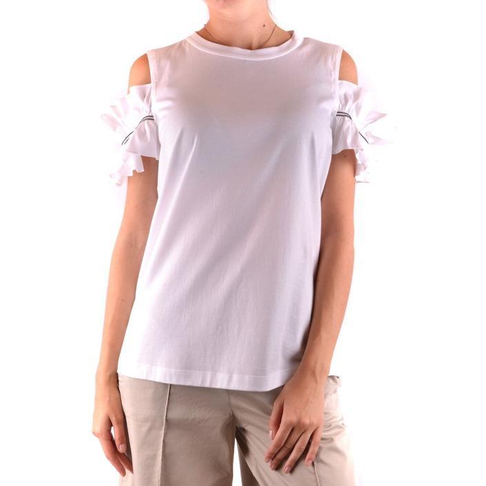 Brunello Cucinelli Women's Top White 163936 - white L