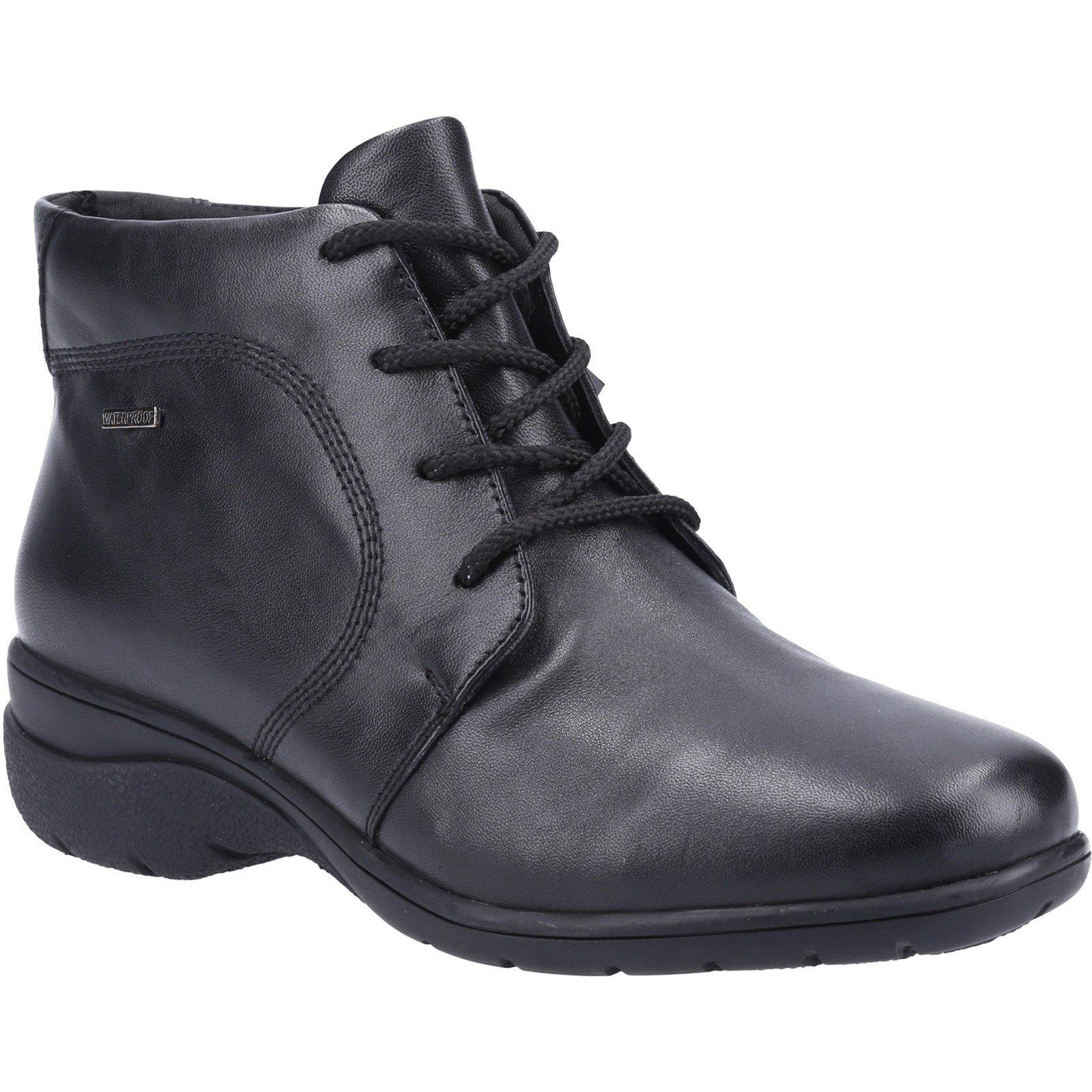 Cotswold Women's Bibury 2 Ankle Boot Black 32978 - Black 6