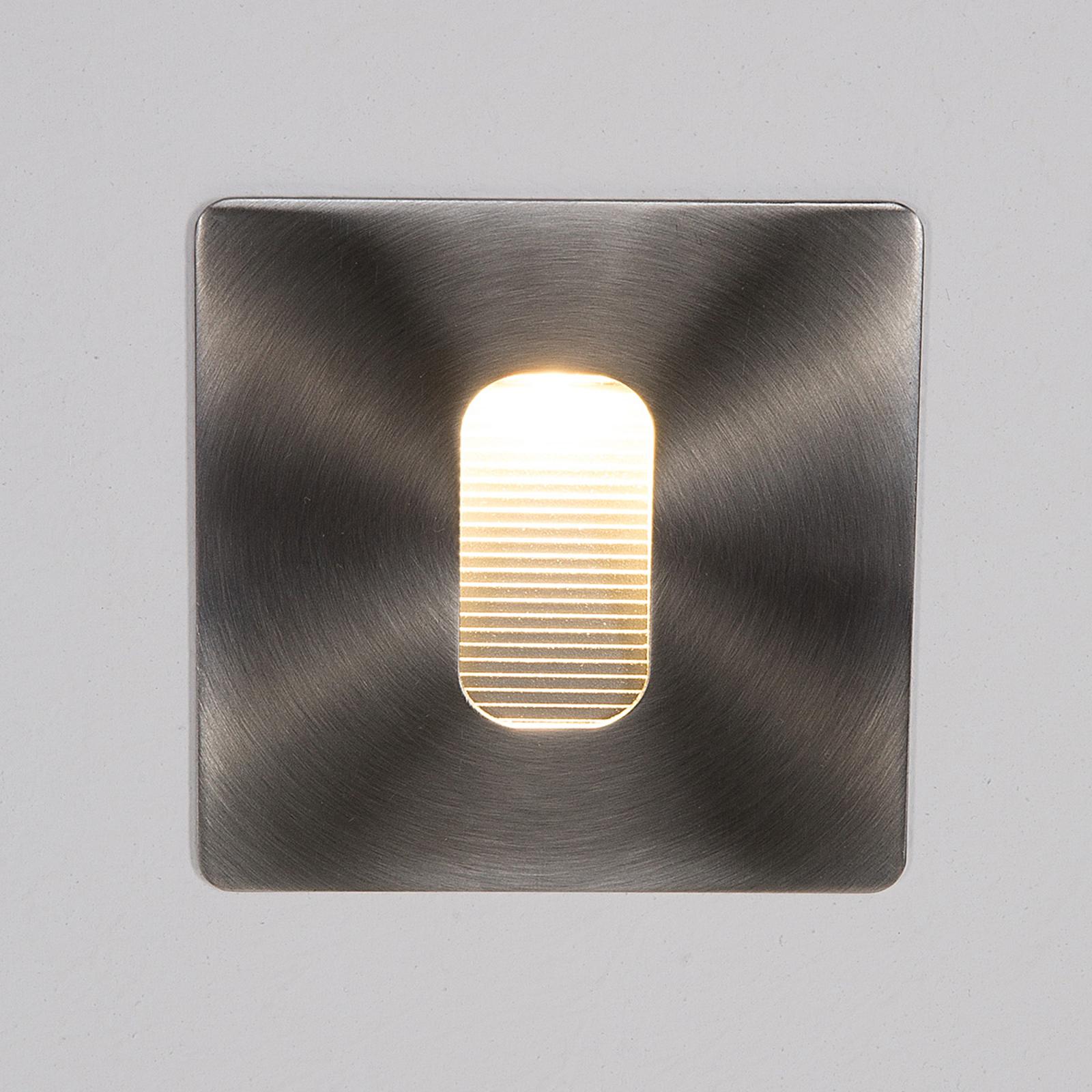Kulmikas Telke-upotettava seinävalaisin LED, IP65