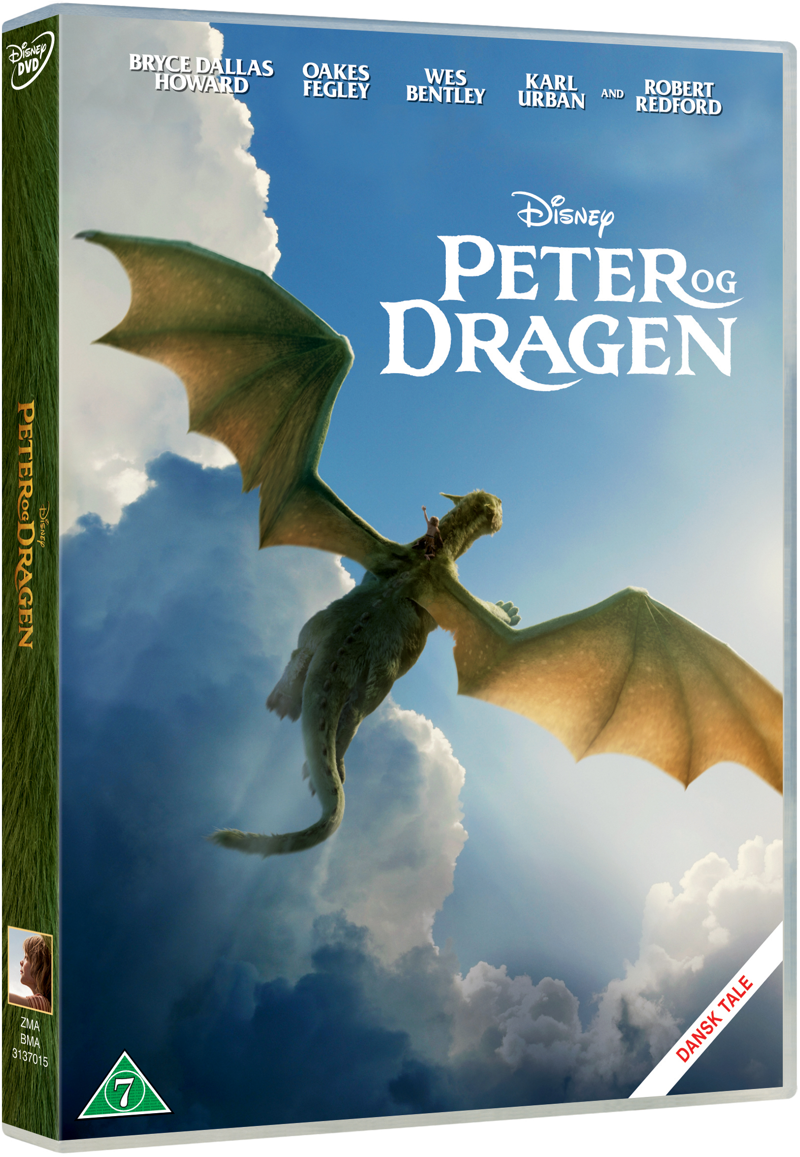 Disneys - Peters Dragon/Peter Og Dragen - 2016 - DVD